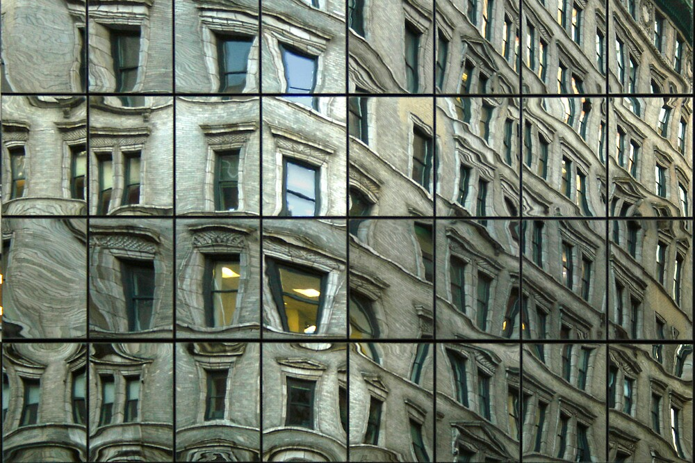 Up There 1254 / New York by Mart Delvalle