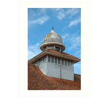 masjid tower Art Print