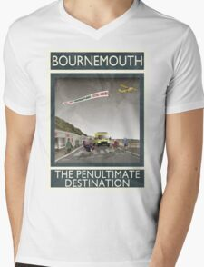 Bournemouth - The Penultimate Destination Mens V-Neck T-Shirt