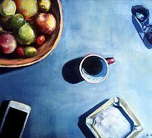 Morning coffee ritual by ZlatkoMusicArt