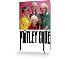 Golden Girls Girls Girls Metal Tee Greeting Card