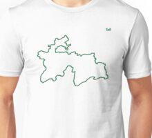 "Tajikistan ""Citizen of the Earth"" large Unisex T-Shirt"