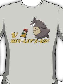 Totoro Gohan Pikachu T-Shirt