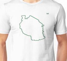 """Tanzania """"Citizen of the Earth"""" large Unisex T-Shirt"""