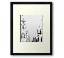 In A World of Giants lV Framed Print