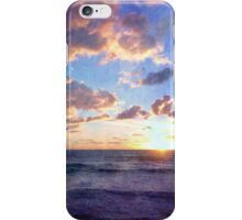 The sun goes down iPhone Case/Skin