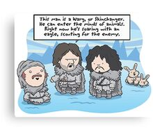 Game of Thrones - Worg Canvas Print