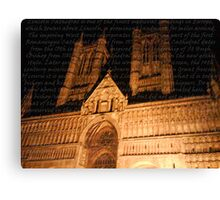The History Canvas Print