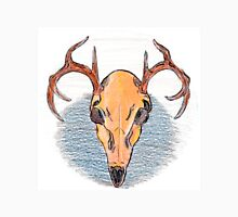 Colored Pencil Deer Skull  Unisex T-Shirt