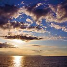 Sunrise, Mediterranean Sea by itchingink