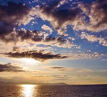 Sunrise, Mediterranean Sea by itchingink