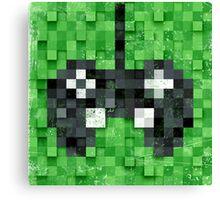 Pixel Gamer Canvas Print