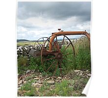 Old Farm Relic,Wigtownshire, South West Scotland Poster