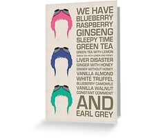 Myriad Of Teas Greeting Card