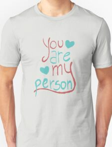 My person Unisex T-Shirt