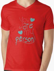 My person Mens V-Neck T-Shirt