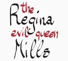 Regina Mills - The Evil Queen Kids Tee