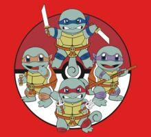 Ninja Squirtle Kids Tee