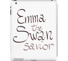 Emma Swan - The Savior iPad Case/Skin