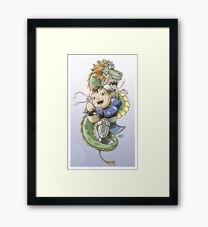 Chinese Fighter Framed Print