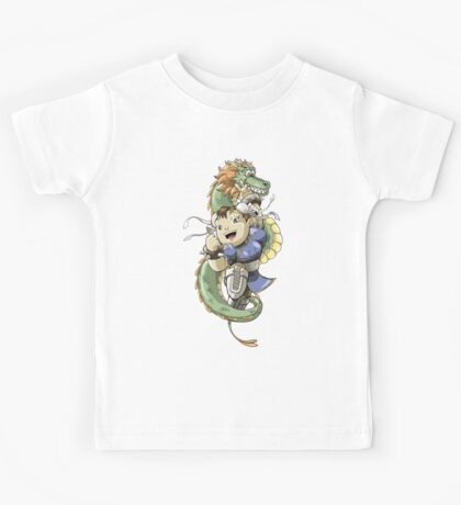 Chinese Fighter Kids Tee