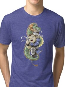 Chinese Fighter Tri-blend T-Shirt