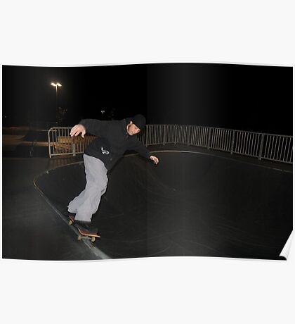 Night Skate: Will Poster