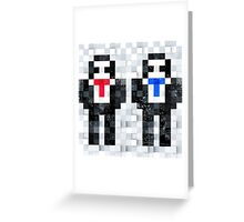 Pixel Geezers Greeting Card