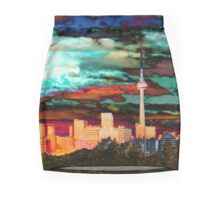 The City Aglow  Pencil Skirt