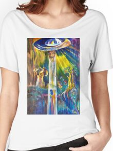 Ascension from Sacred Places Women's Relaxed Fit T-Shirt