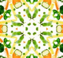 Kaleidoscope Veg Sticker