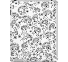 Black in White iPad Case/Skin
