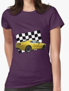 America's Race Car Womens Fitted T-Shirt