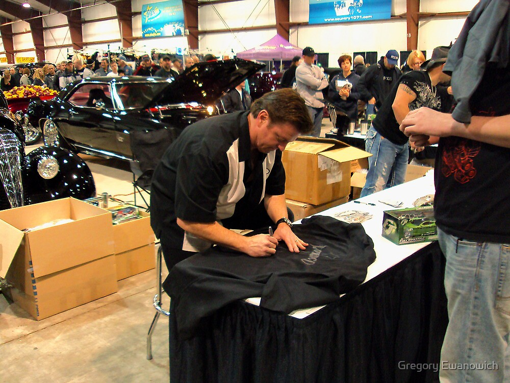Chip Foose Delights The Crowd by Gregory Ewanowich