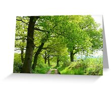 A Green Haven Greeting Card