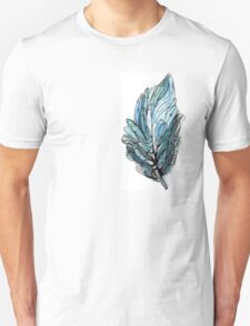 Watercolor Ink Feather Abstract T-Shirt