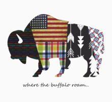 Where the Buffalo Roam T-Shirt