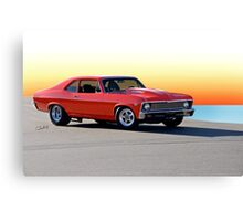 1968 Chevrolet Nova 'Pro Street' II Canvas Print