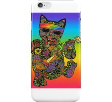 Cool Lucky Black Cat  iPhone Case/Skin