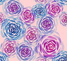 Rose Pattern by Krista Latow