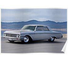 1962 Ford 'Custom' Galaxie Poster