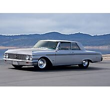 1962 Ford 'Custom' Galaxie Photographic Print