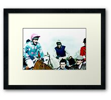 Dessie and Dunwoody Framed Print