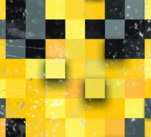 Pixel Smiley Sticker