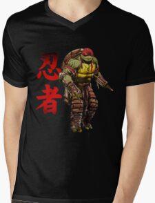 Red Power Mens V-Neck T-Shirt