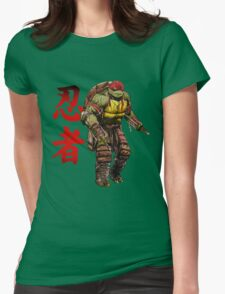 Red Power Womens Fitted T-Shirt