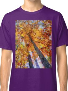 Autumn Trees In The Sky Classic T-Shirt