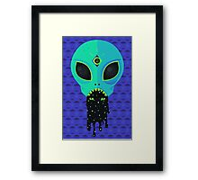 Alien Flu Framed Print