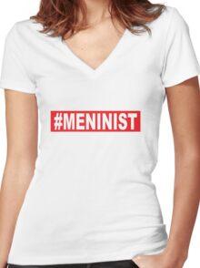 Meninist Women's Fitted V-Neck T-Shirt