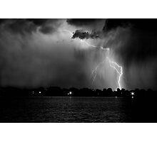 Energy Black and White Photographic Print